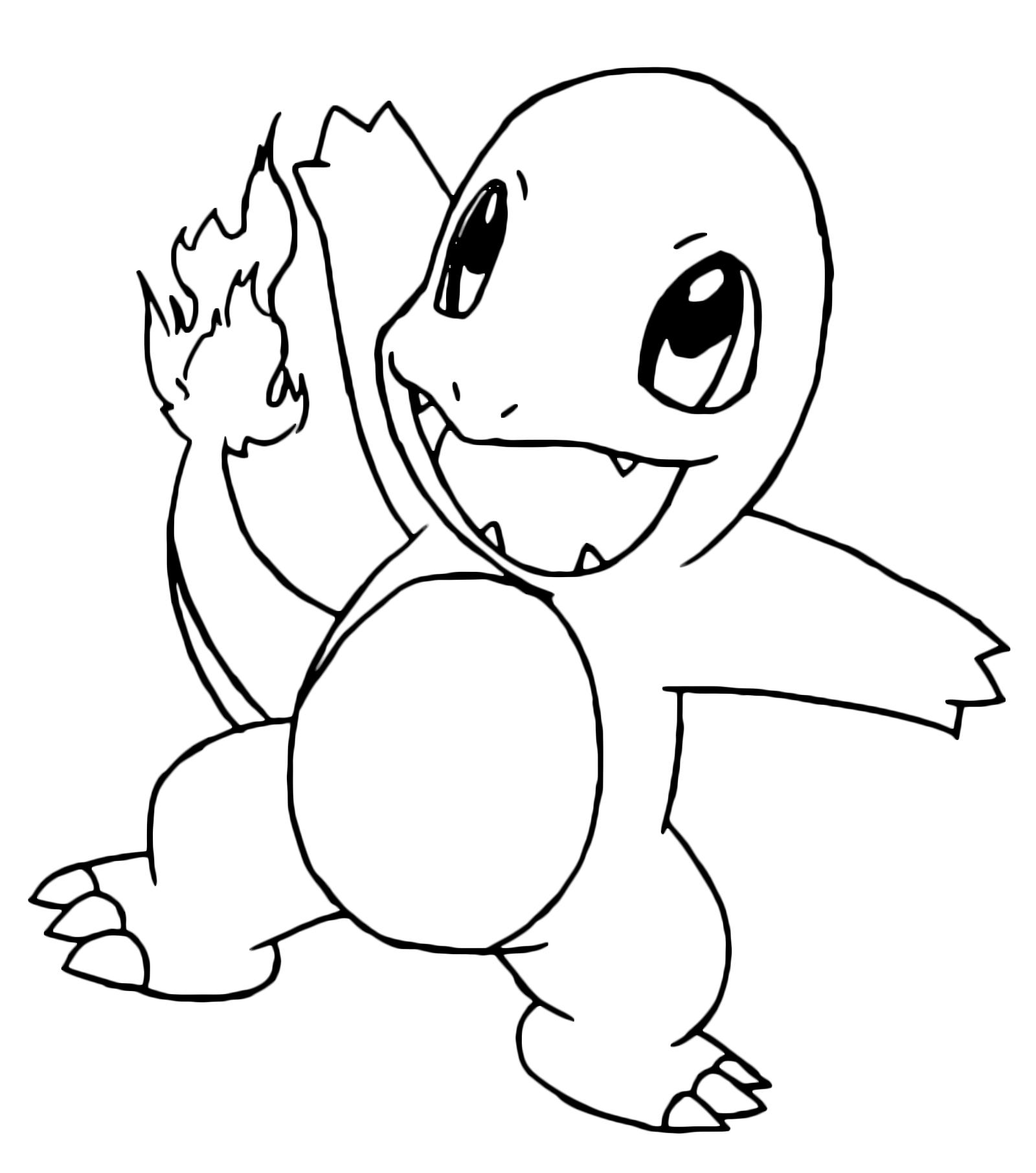 Pokémon - Gen. 1 - Charmander cucciolo - 4 - Fuoco