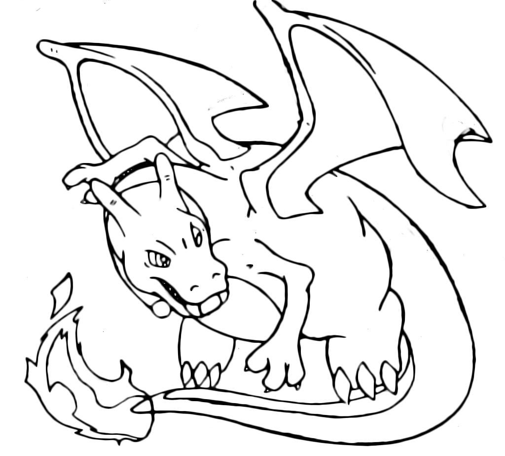 Pok mon gen 1 il pericoloso charizard 6 fuoco for Pokemon da stampare e colorare