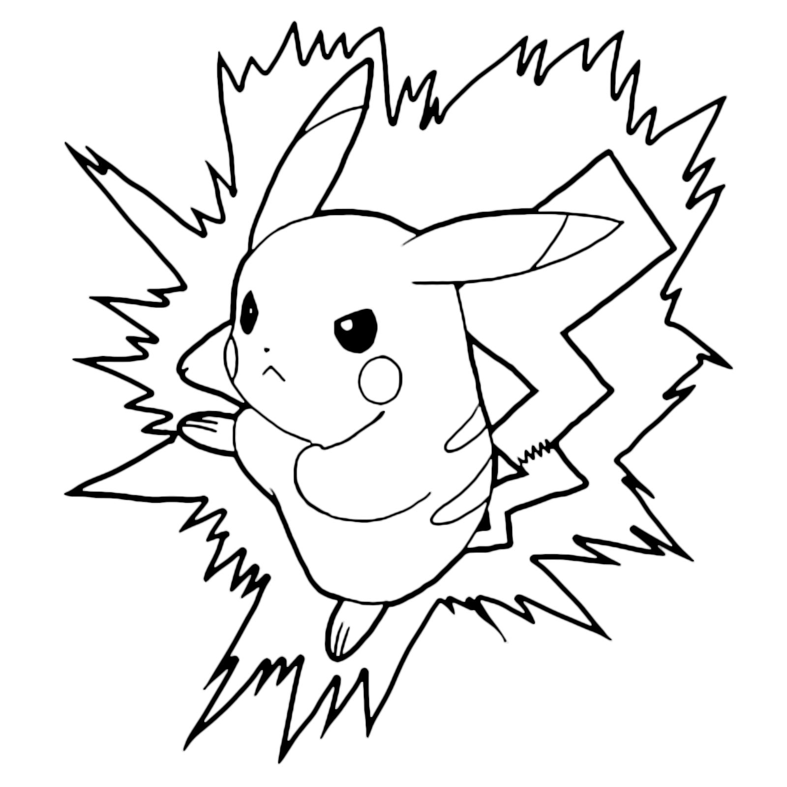 Pokémon Gen 1 Pikachu Arrabbiato