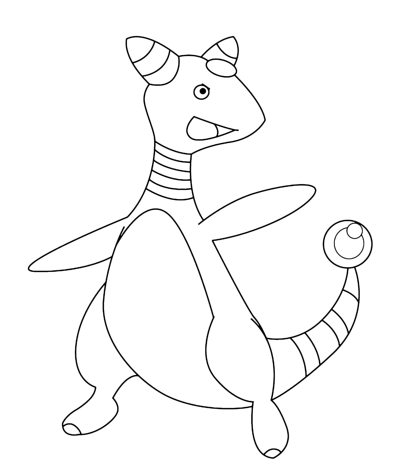 Pok mon Gen 2 Ampharos Pokemon