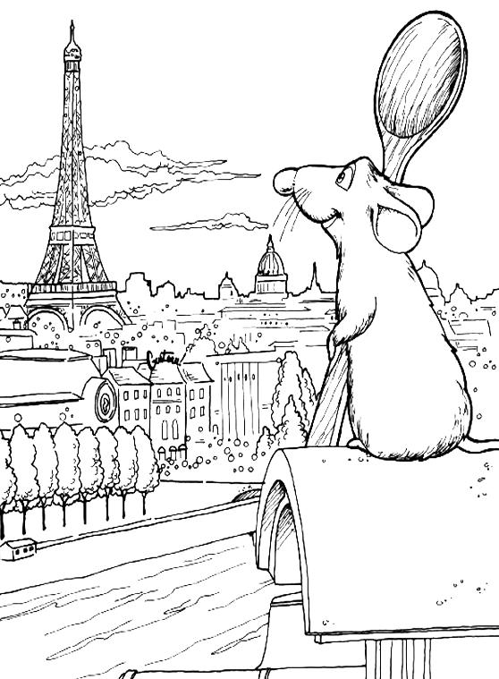 Conosciuto Remi ammira la Tour Eiffel GY29
