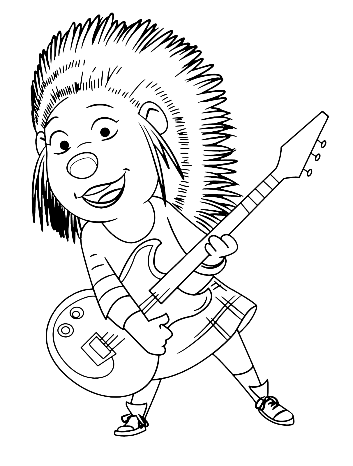 coloring print pages we sing - photo#25