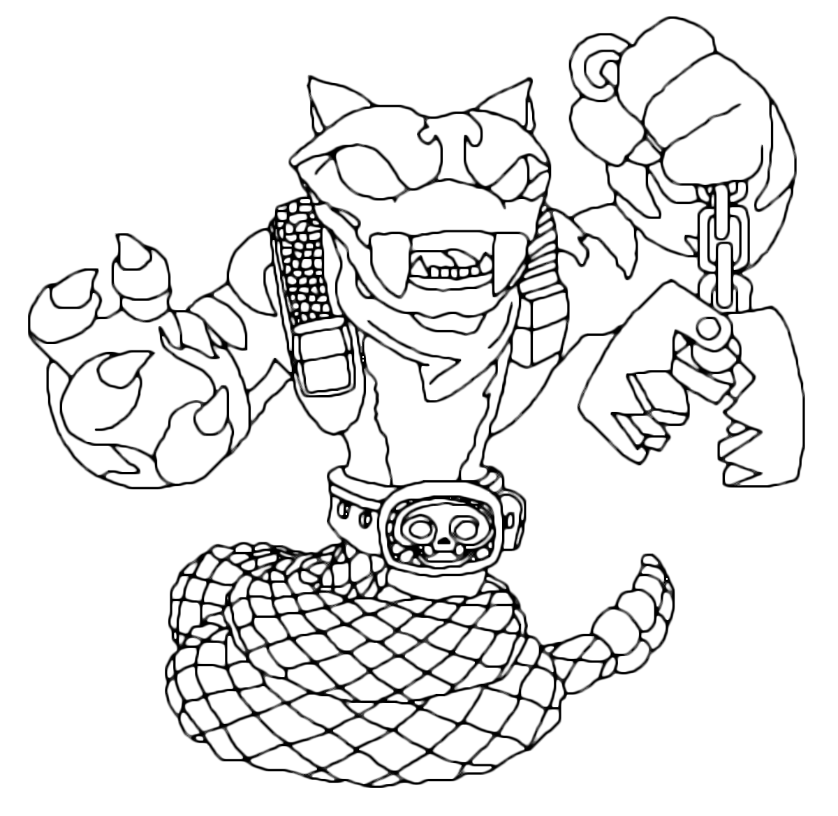holiday coloring pages skylanders giants coloring pages free