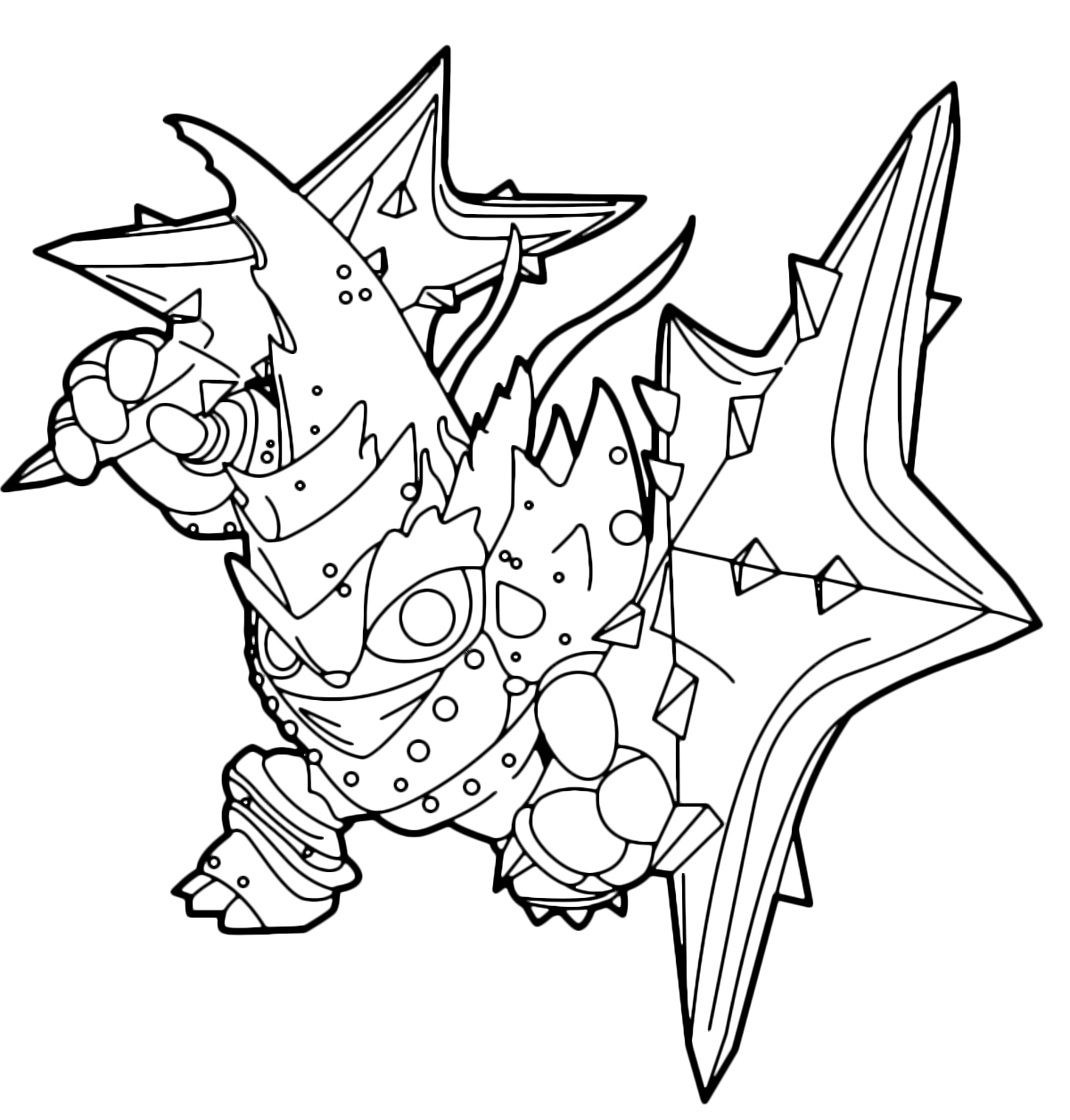 skylanders trap team coloring pages golden queen | Skylanders Golden Queen Coloring Page Coloring Pages