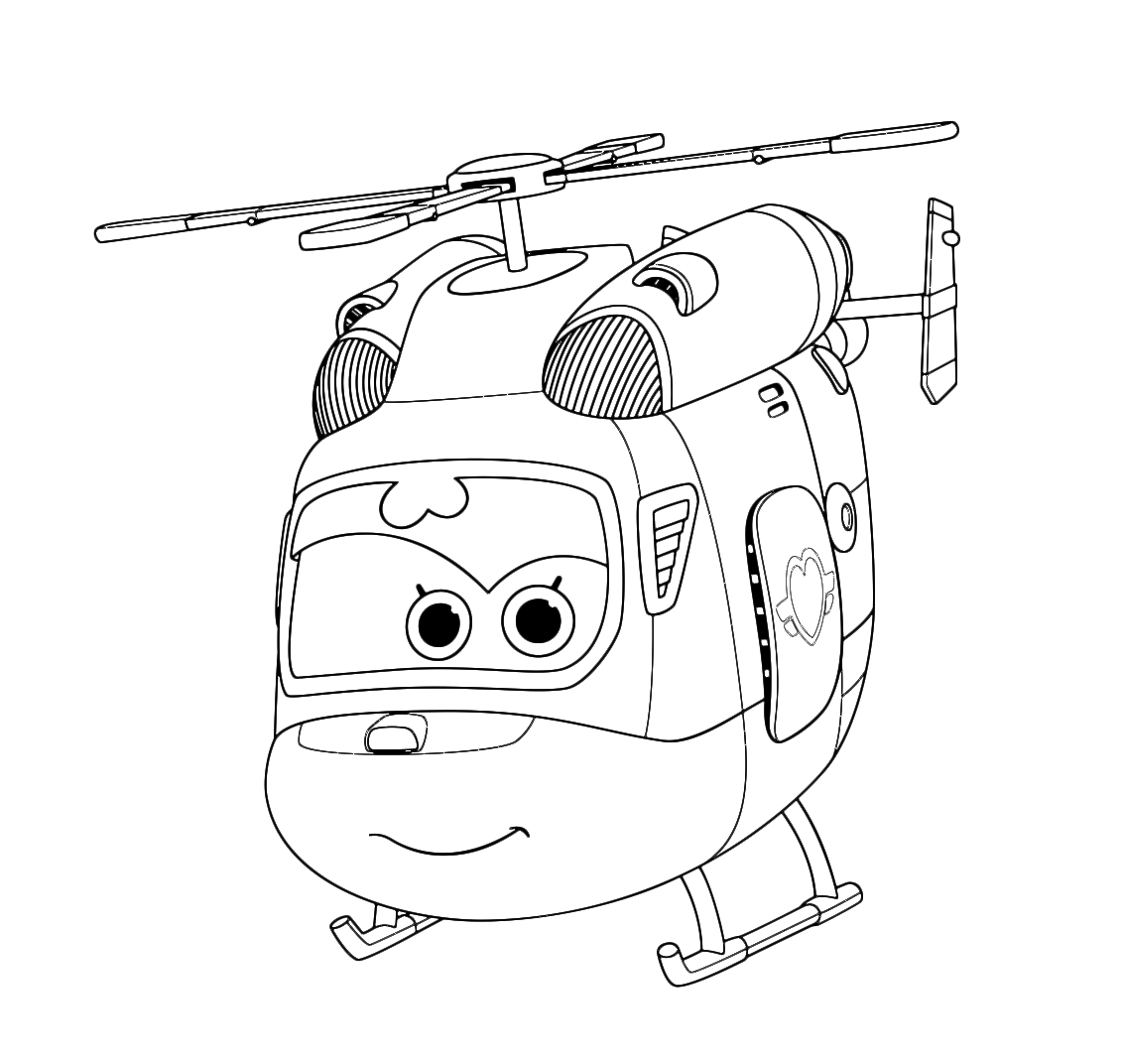 Super wings dizzy la bella elicotterina for Disegni da colorare super wings