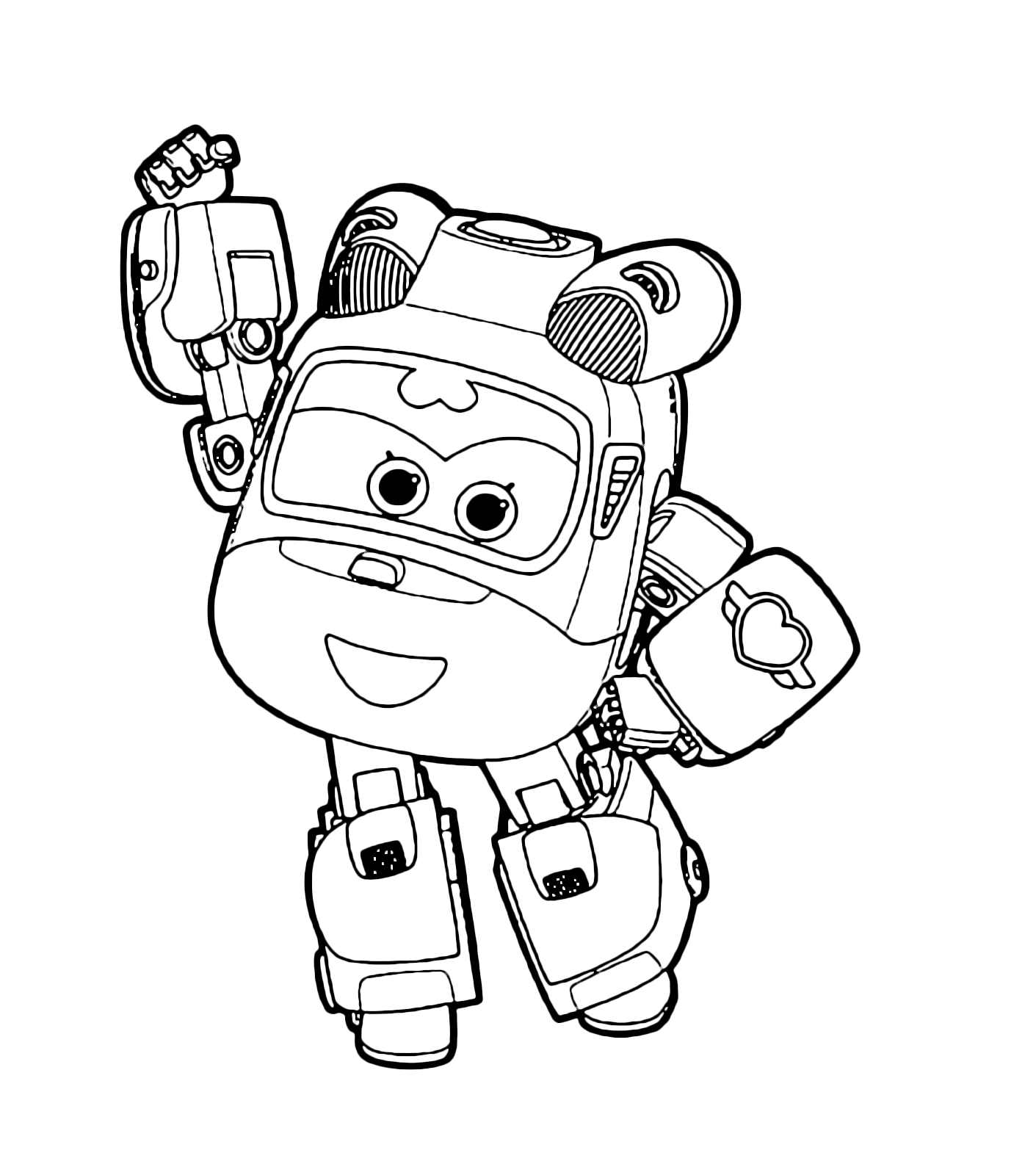 Super wings dizzy la star del salvataggio for Disegni da colorare super wings