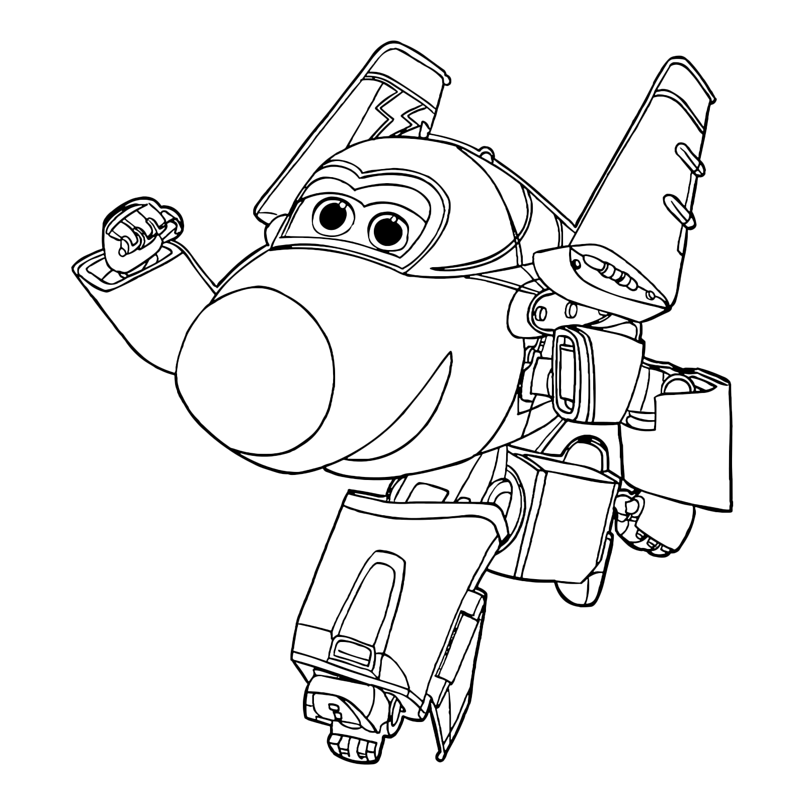 Disegni Di Super Wings Da Colorare