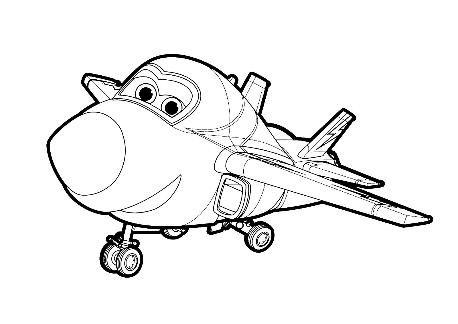 Disegni Di Super Wings Da Colorare