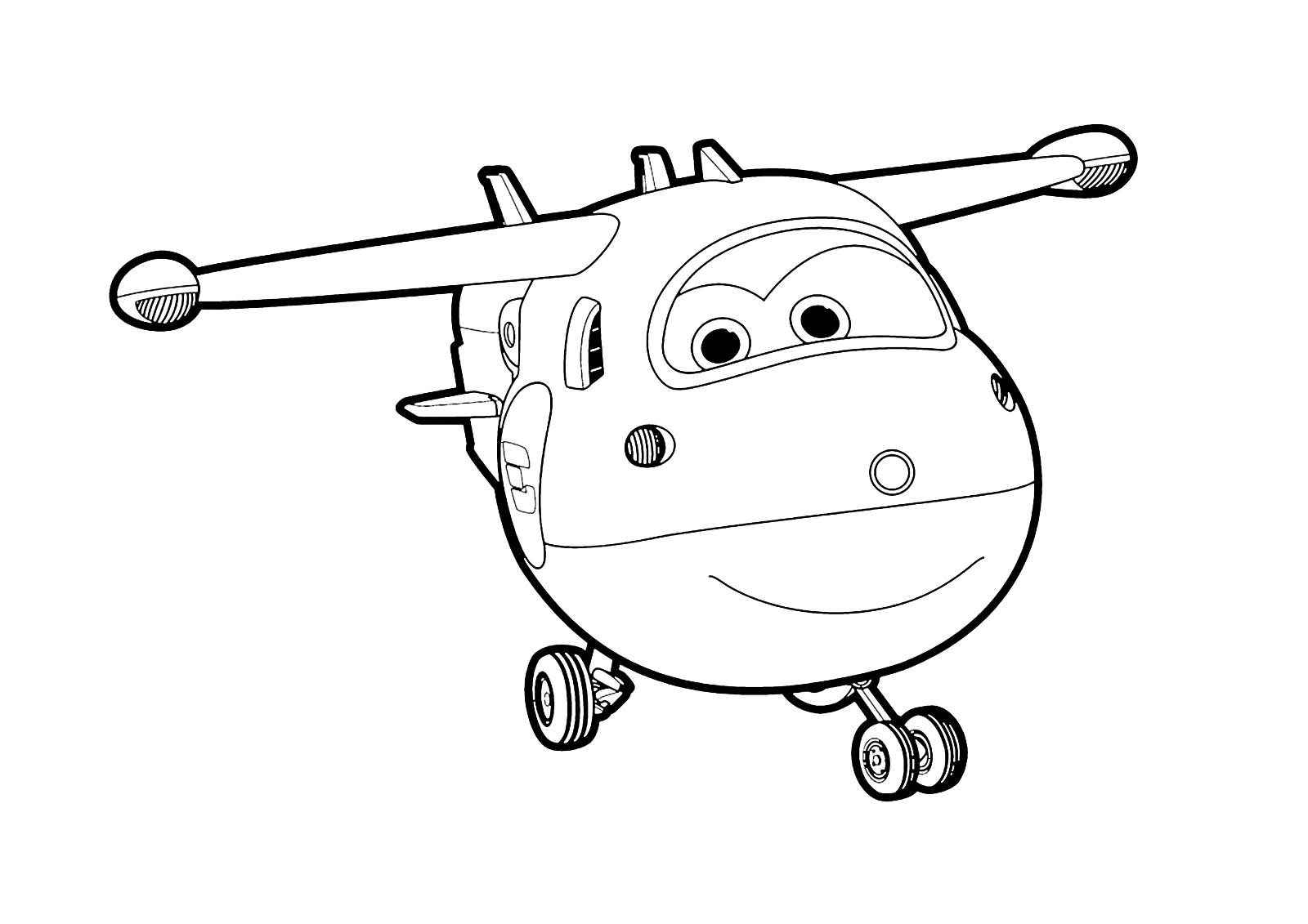 Super Wings Jett Vola Nel Cielo