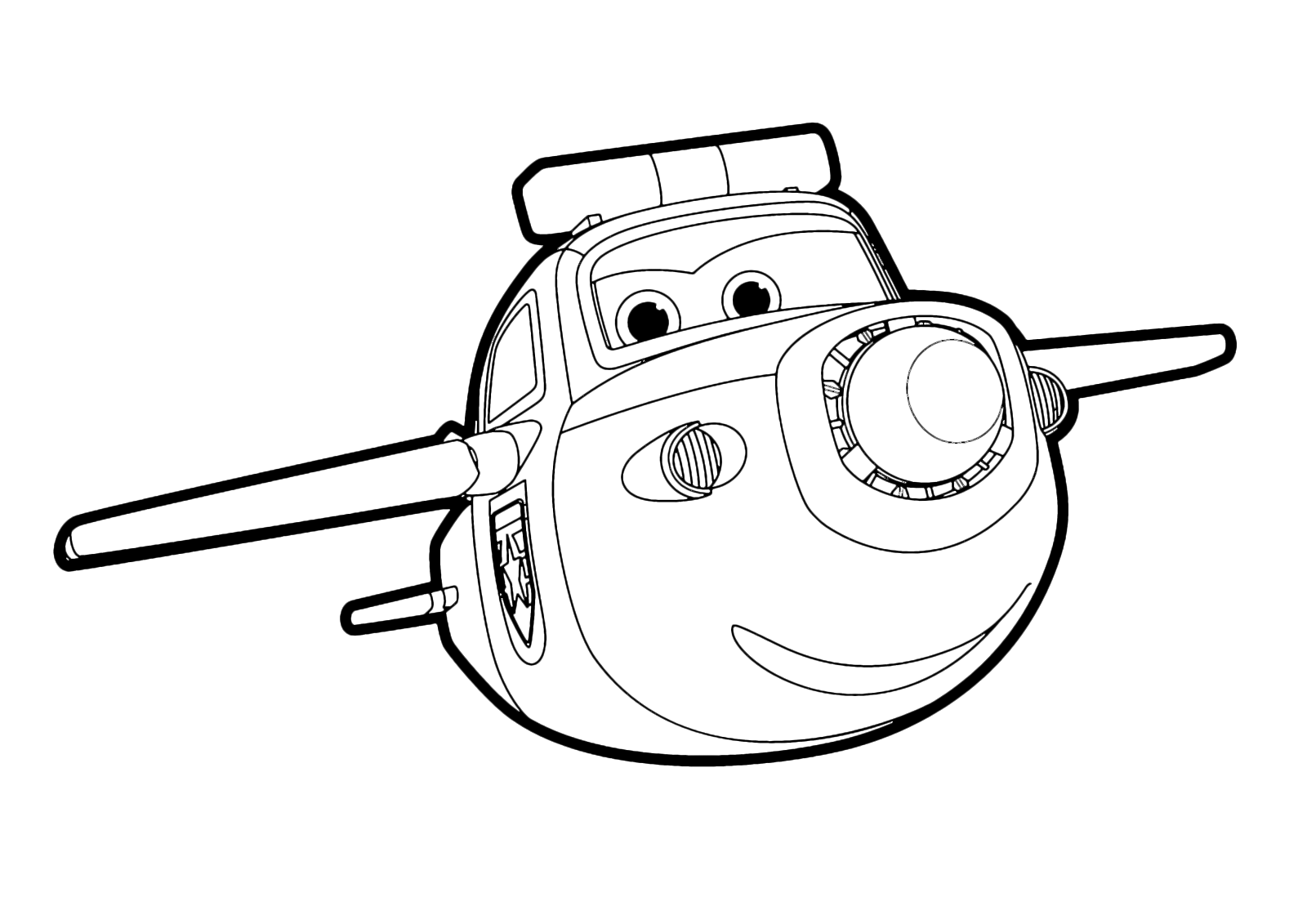 Super wings paul vola sull 39 aeroporto for Disegni da colorare super wings