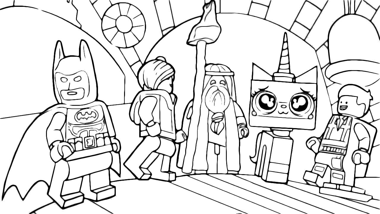 The Lego Movie Emmett Parla Con I Suoi Amici Vitruvius