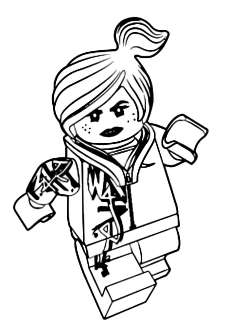 Disegni Di The Lego Movie Da Colorare