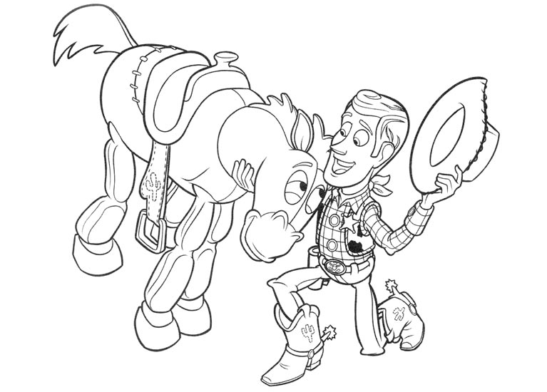 Woody bullseye coloring pages coloring page for Bullseye coloring page
