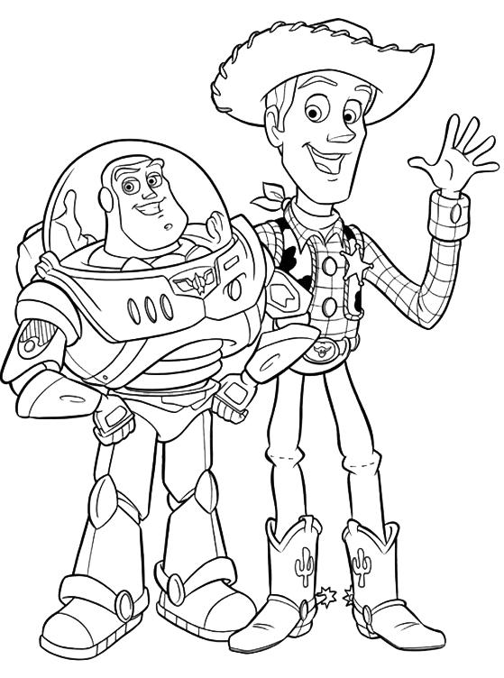 Toy Story - Woody e Buzz Lightyear