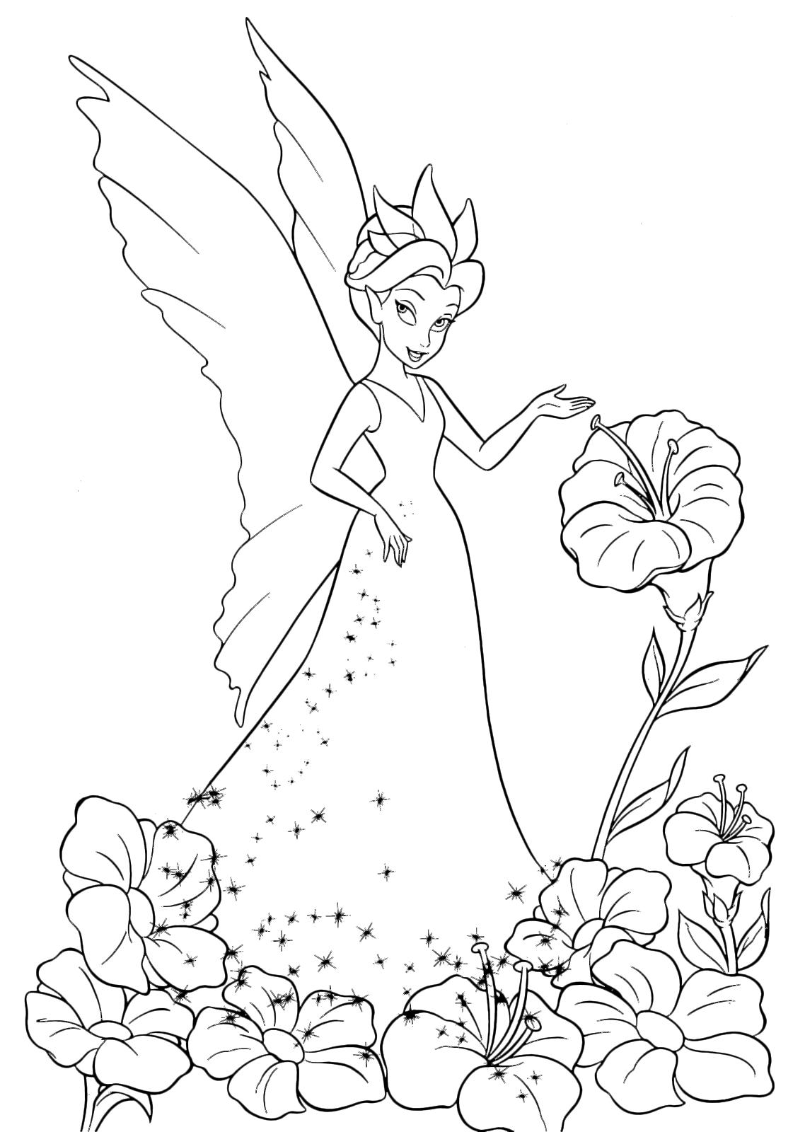 Trilli la regina delle fate clarion ammira un fiore for Immagini giardiniere