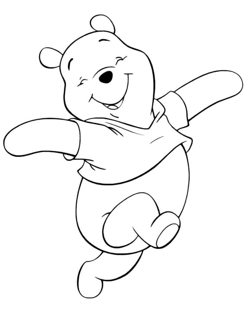Winnie the pooh l 39 orsetto winnie the pooh saltella felice for Winnie pooh ka che