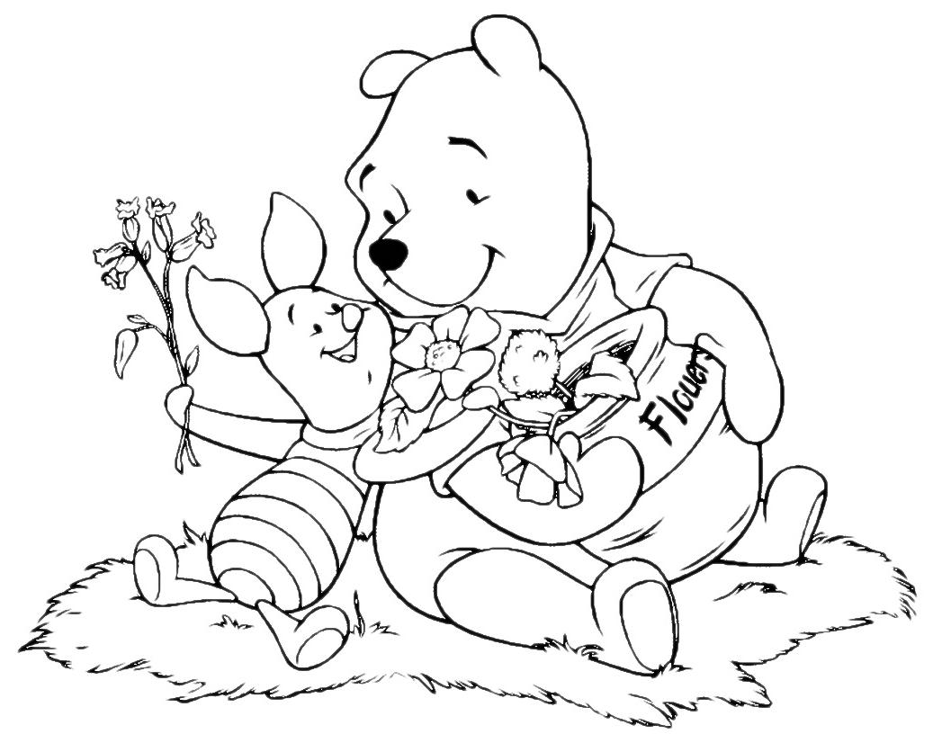 Winnie the pooh winnie the pooh e pimpi raccolgono i fiori for Winnie pooh ka che