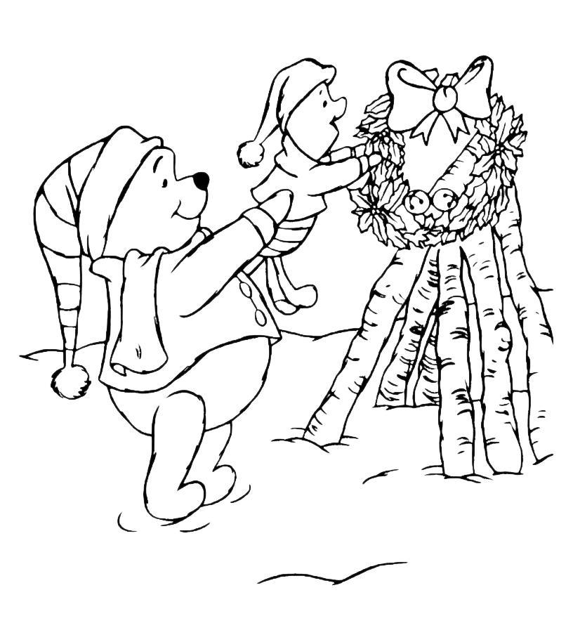 Winnie The Pooh Winnie The Pooh E Pimpi Si Preparano Al Natale