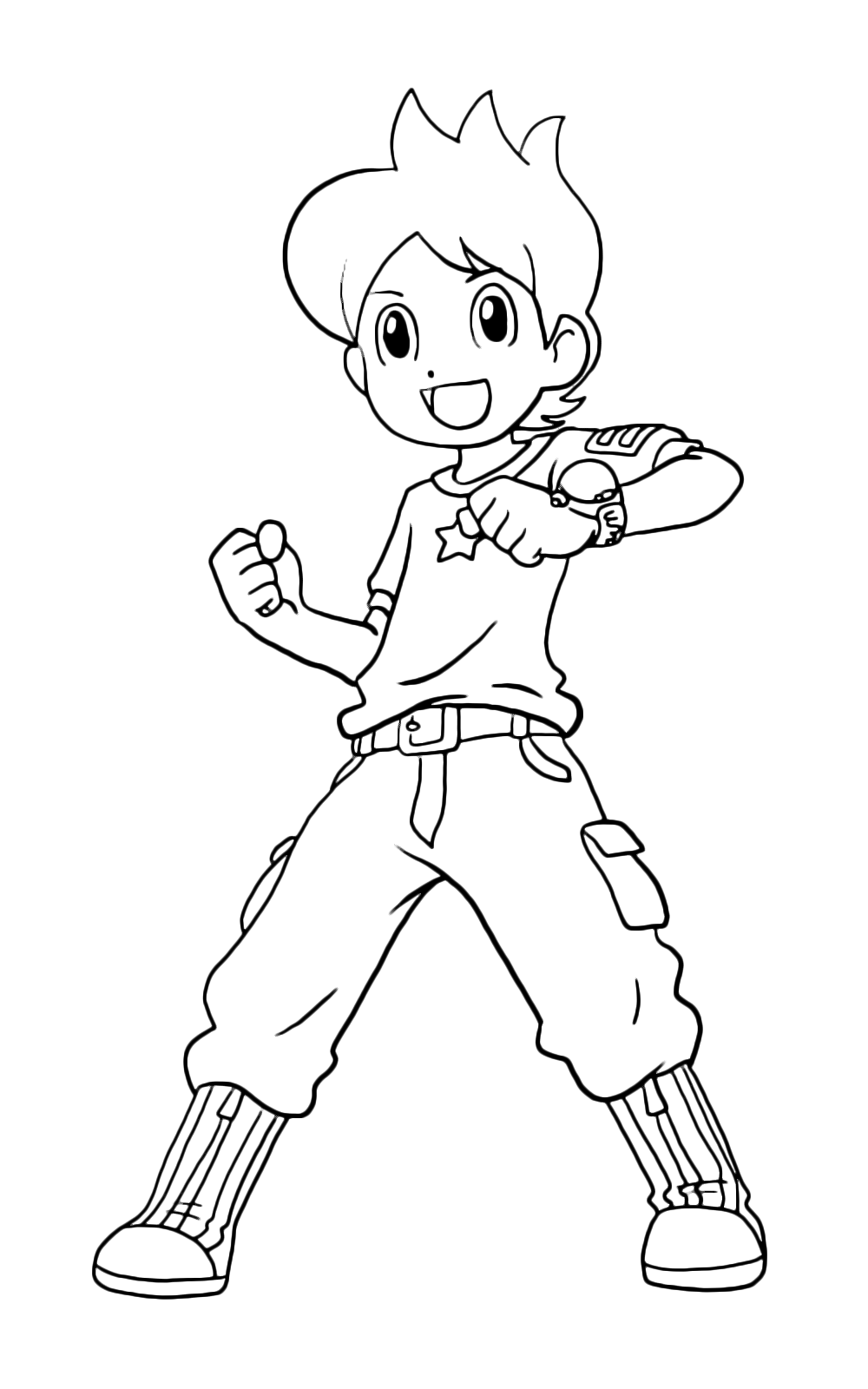 Yo kai watch nathan pronto a scoprire un nuovo yo kai for Yo kai watch coloring pages
