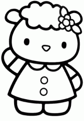 Amica di Hello Kitty