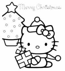 Hello Kitty a Natale