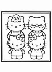 Hello Kitty con i nonni