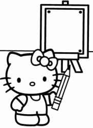 Hello Kitty disegna