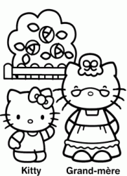 Hello Kitty e la nonna