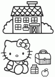 Hello Kitty fa il pic nic