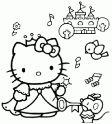 Hello Kitty pricipessa
