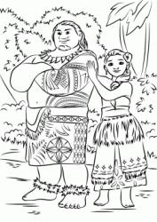 Disegni Di Oceania Da Colorare
