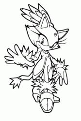 Disegni Di Sonic Boom Da Colorare