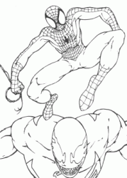Spiderman contro Venom