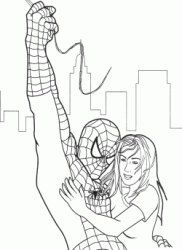 Spiderman salva Jane
