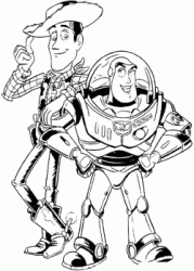 Woody e Buzz Lightyear