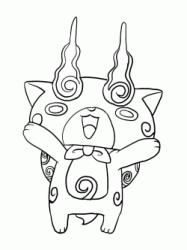Disegni Di Yo Kai Watch Da Colorare